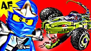 100 Fangpyre Truck Ambush FANGPYRE TRUCK AMBUSH 9445 Lego Ninjago Stop Motion Set Review YouTube