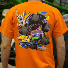 100 Monster Truck T Shirts Hrowdown Our Shirt Orange