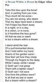 Edgar Allen Poe One Of My Favorite Poems