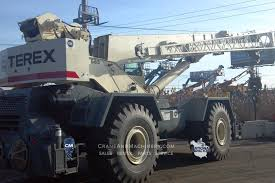 100 Truck Rentals Chicago TEREX RT665 Crane And Machinery IL