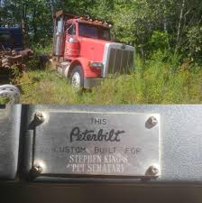 100 Trucks Stephen King Truck Found In Maine Was Used In S Pet Sematary