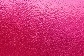 Dimpled Ice On Glass Texture Colorized Hot Pink