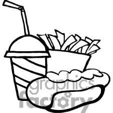 Soda clipart fast food 5