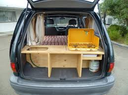 Cheap And Easy Diy Mini Van Camper Conversion 15 Minivan To Power Tools Alignment Fashion Exterior