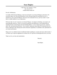 Amazing Management Cover Letter Examples & Templates From ... General Cover Letter Template Best For 14 Generic Cover Letter Employment Auterive31com 19 Job Application Examples Pdf Sheet Resume Generic Sample 10 Examples Of General Letters Jobs Samples Maintenance Technician Example For Curriculum Vitae Writing A Sample Resume Address New