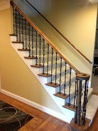 Balusters – Iron Crafters, LLC Wrought Iron Stair Railings Interior Lomonacos Iron Concepts Wrought Porch Railing Ideas Popular Balcony Railings Modern Best 25 Railing Ideas On Pinterest Staircase Elegant Banisters 52 In Interior For House With Replace Banister Spindles Stair Rustic Doors Double Custom Door Demejico Fencing Residential Stainless Steel Cable In Baltimore Md Urbana Def What Is A On Staircase Rod Rod Porcelain Tile Google Search Home Incredible Handrail Design 1000 Images About
