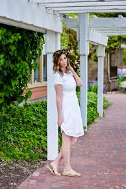 three easy ways to style a white summer dress edgy girly u0026 in