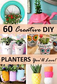 60 Creative DIY Planters Youll Love For Your Home O Cool Crafts