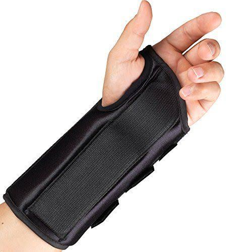 Otc Left Hand Wrist Splint - Black, Large, 8""