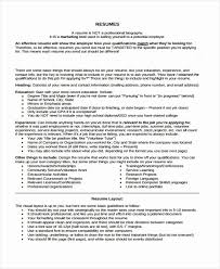 Does A Resume Have To Include Education Awesome 9 Summer Job Templates Pdf Doc