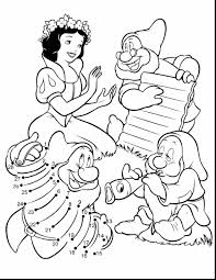 Surprising Snow White Printable Coloring Pages Sheets With And