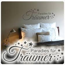 wandtattoo paradies für träumer sterne schlafzimmer