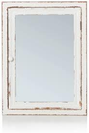impressionen living spiegelschrank badschrank im vintage look holz ca l80 x b15 x h60 cm
