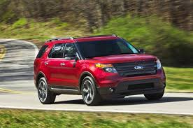 Ford Explorer Captains Chairs Second Row by 2013 Family Crossover Comparison Day Two Automobile Magazine