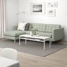 landskrona 3er sofa gunnared hellgrün hier kaufen ikea