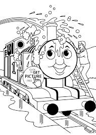 Thomas And Friends Printable Coloring Pages Printable Thomas And