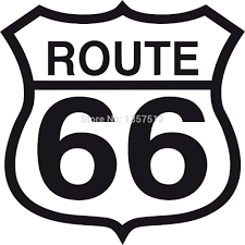 100 Truck Route Sign Stickers Wholesale 66 Funny Sticker For Window