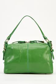 faux leather small handbag just 5