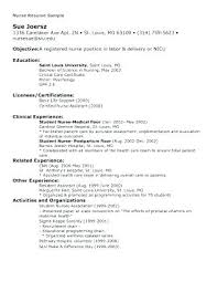 New Nurse Resume Samples Postpartum Examples And Resumes Sample Com How