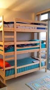 mydal bunk bed hack added height shelf and malm drawers ikea