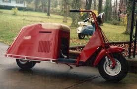 My First Cushman Scooter 1947 Model 52