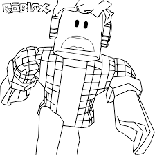 1024x1033 Roblox Coloring Pages For Kids Lesson