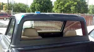 1967-72 Chevy C-10 Flush Fit Back Glass - YouTube