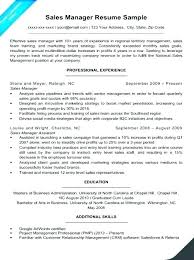 Senior Resume Template Management Samples Templates Sales Manager Example Project Construction Cv