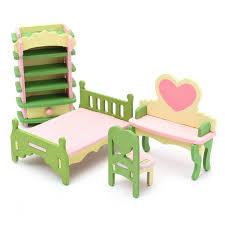 DIY Doll House Romantic Trip Miniature Wooden Furniture Model LED