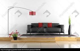 stock bild 21333766 moderne lounge mit schwarzem