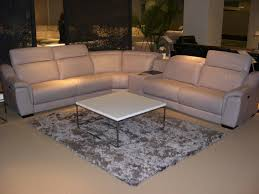 Poundex Bobkona Sectional Sofaottoman by Htl Manhattan Leather Sectional Costco For The Home Pinterest