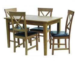 Stockholm Oak Medium Kitchen Table ONLY