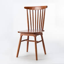 Modern Design Dining Chairs Solid Wood Room Furniture Quality Wooden Armchairs
