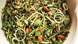 Sprout Pumpkin Seeds Recipe by Brown Rice Salad With Crunchy Sprouts And Seeds Recipe Bon Appetit