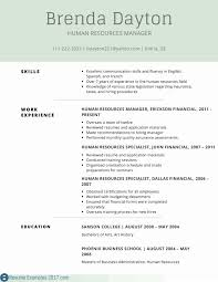 Nanny Resume Examples Remarkable Business Management Administration Samples