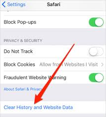 How to Delete Safari History Cookies Junks on iOS 9 Device