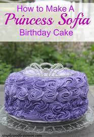 How to Make a Princess Sofia Birthday Cake