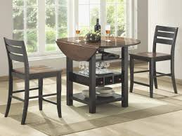 Glass Dining Table Set Luxury Furniture Pub And Chairs Pertaining To Room