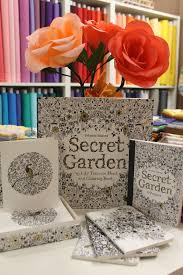 Johanna Basfords Secret Garden Coloring Book And Collection Is