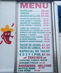 100 Big Truck Taco Menu LIFES A BLOG THEN YOU DIE Budgies Burritos