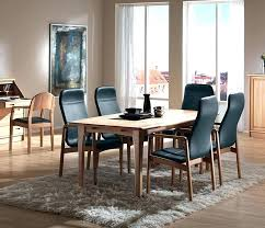 Danish Dining Room Furniture Classic Table Chairs Vintage