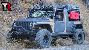 100 Jeep Wrangler Truck Conversion Kit Adventure Build YouTube