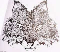 Animal Kingdom Coloring Book Fox Made Out Of Leaves It S So Creative And