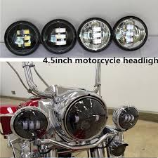 new generation 4 5 motorcycle fog lights 4 1 2 harley led fog