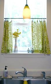 fascinating making simple kitchen curtains muarju