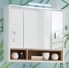 spiegelschrank inkl led beleuchtung weiß wildeiche günstig möbel küchen büromöbel kaufen froschkönig24