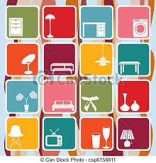 Interior Designs Clipart Designer 1