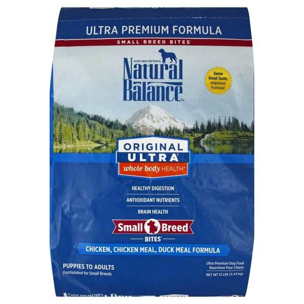 Natural Balance Original Ultra Dog Food - Chicken, Chicken Meal & Duck Meal, 12lb