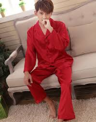 faux silk men sleepwear mens pajamas men u0027s sleep u0026 lounge male