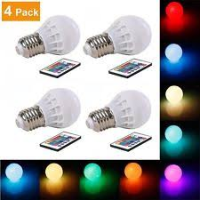 multi color led bulb ebay